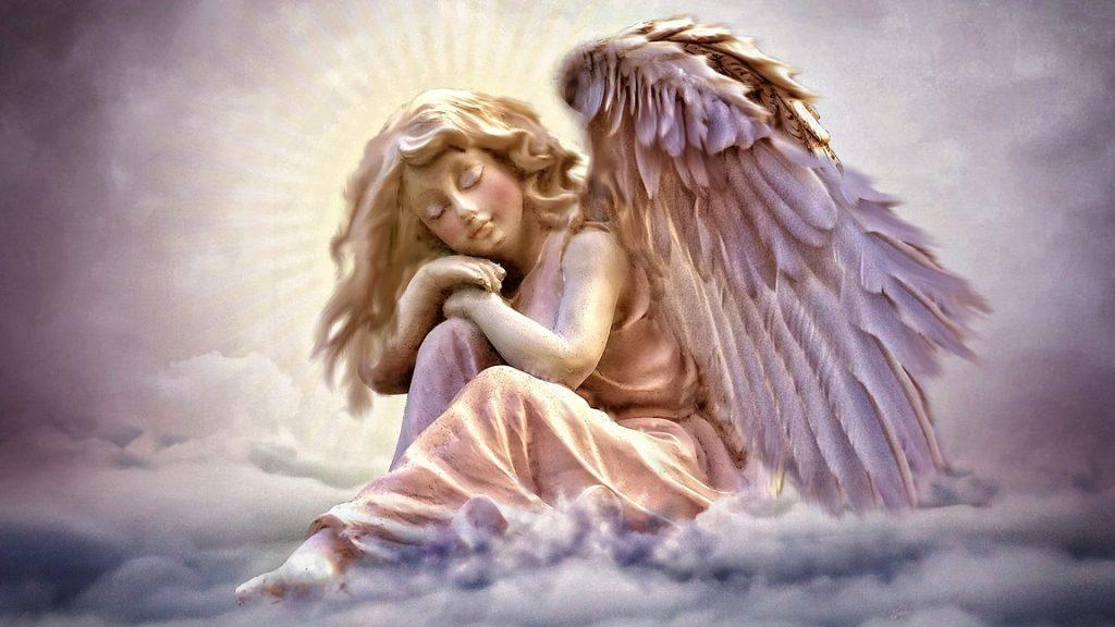 na pomoč ji je priskočil njen angel varuh